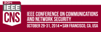 CNS — 2014 IEEE Conference on Communications and Network Security