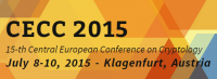 CECC 2015 — 15th Central European Conference on Cryptology