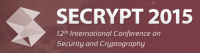 SECRYPT 2015 — 12th International Conference on Security and Cryptography